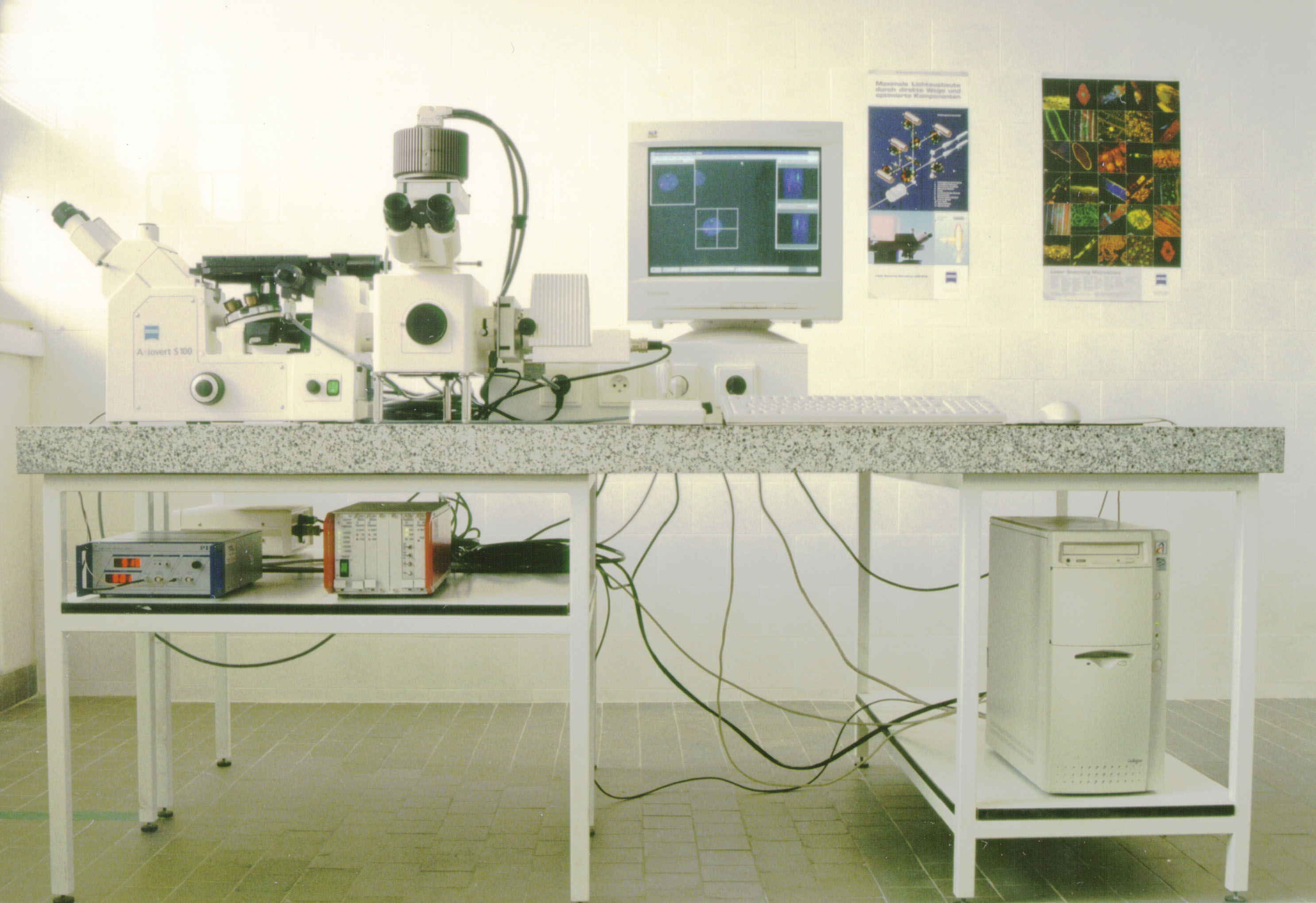 Brno microscope from 1990s